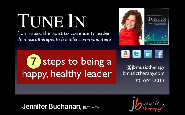 7 Steps to Being a Happy, Healthy Leader