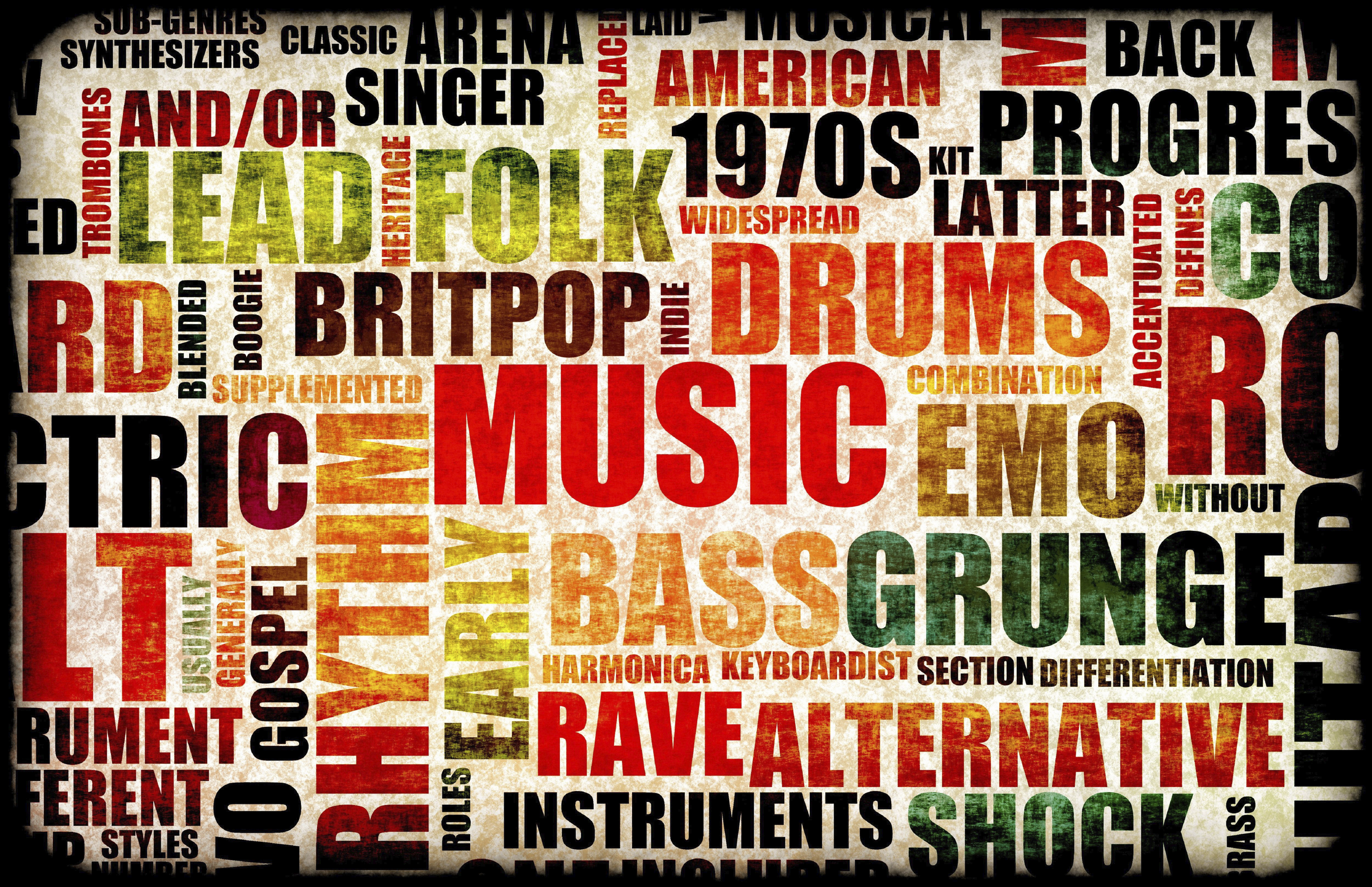 music different genres types background genre preferences musical various therapy matter words shutterstock why singing comments